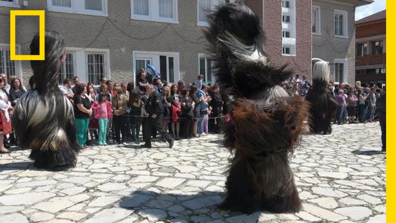See the Intricate Costumes of Bulgaria's Kukeri Dancers | National Geographic