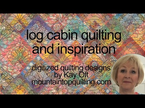 IDEAS FOR QUILTING LOG CABIN BLOCKS