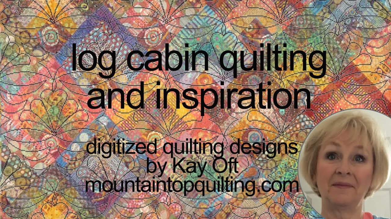 Ideas For Quilting Log Cabin Blocks Youtube
