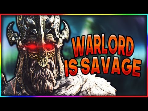 Warlord Is a Pure SAVAGE! - For Honor Brawls