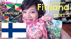 Emmy Eats Finland Part 2 - more Finnish sweets