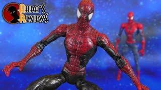 Marvel Legends McFarlane Spider-man Black Super Posable Hasbro Action Figure Review Recensione
