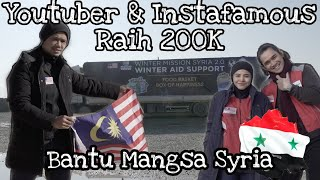 Haze x Syria   Part 2: Raih RM200K, Youtuber & Instafamous Bantu Syria (Ft. Nadzmi, Ardell & Imran)