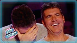 FUNNIEST Impression Auditions EVER On Got Talent!  Top Talent