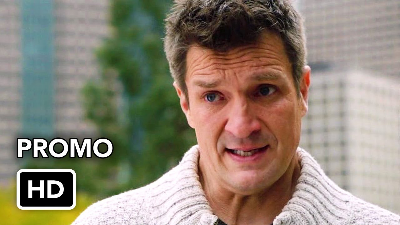 """Download The Rookie 3x12 Promo """"Brave Heart"""" (HD) Nathan Fillion series"""