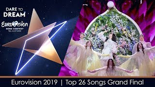 Eurovision 2019 | My Top 26 Songs | Grand Final