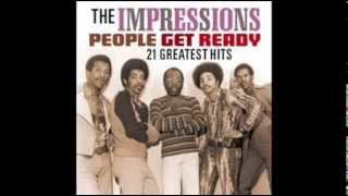 TALKING ABOUT MY BABY   THE IMPRESSIONS 1964