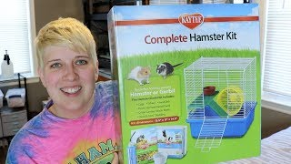 COMPLETE HAMSTER KIT REVIEW