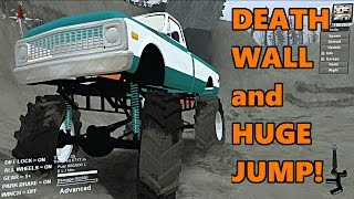 Spin Tires | HUGE Monster Truck vs DEATH WALL and Biggest JUMP!