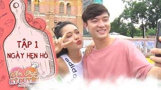 Ẩm thực kỳ duyên|Tập 1 ngày hẹn hò:Bi Max chiêu đãi Mai Quỳnh một bữa no nê nhân dịp cô vào Sài Gòn