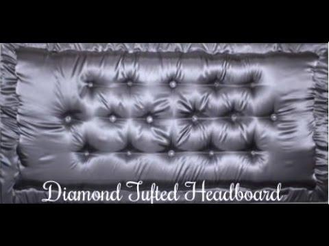 Diy Diamond Tufted Headboard Tutorial
