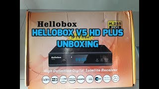Hellobox v5 plus unboxing