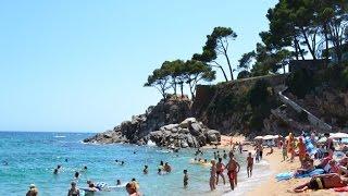 (HD) Camping Bungalow Park Cala Gogo Calonge Costa Brava Spanje - Juli 2014
