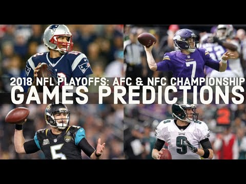 2018 AFC, NFC Championship Matchups: Game Date, Time, TV ...