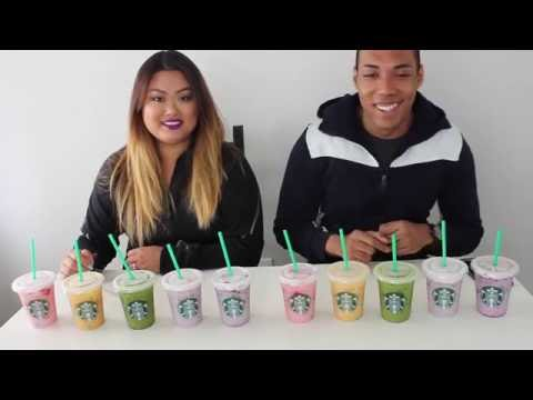 Starbucks Rainbow Drinks Taste Test | Tea N