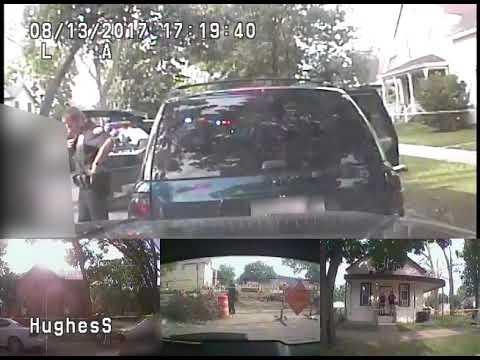 La Crosse police shooting death of Roger Burzinski (squad footage B)