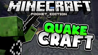 Minecraft PE QuakeCraft Minigame - MCPE 0.15.1 Brokenlens Server (Pocket Edition)