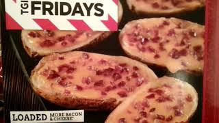 Tgi fridays loaded potato skins taste review