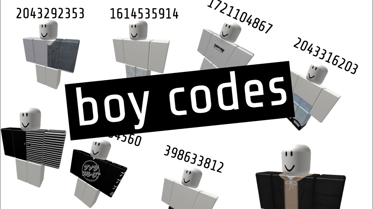 Robloxian Highschool Boy Codes Youtube