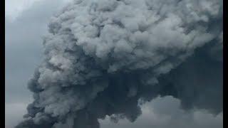 Incendie géant à Chelles 22 septembre 2017 / Huge Fire Smoke near Paris / september
