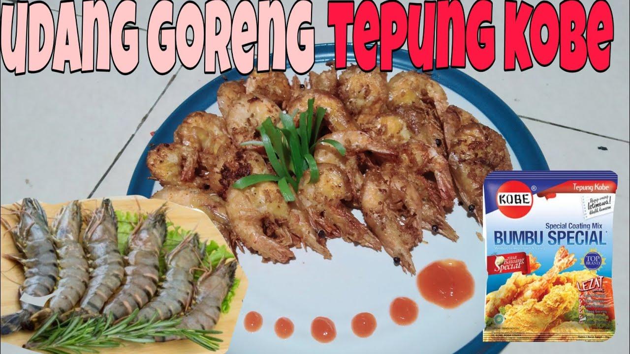 Cara masak UDANG GORENG TEPUNG - YouTube