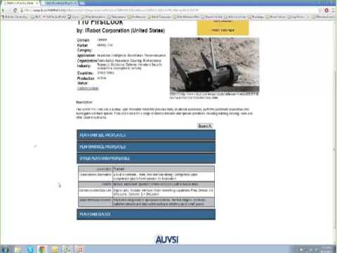 Unmanned Systems and Robotics Directory Introductory Webinar