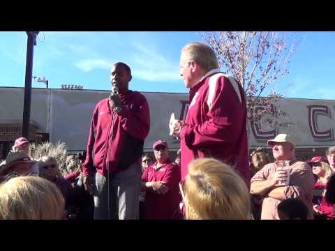 Charlie Ward gives Florida State sod talk before Gators game
