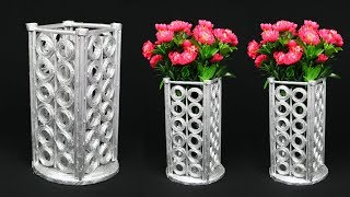 Newspaper Flower Vase || flower vase making || Home Decoration Ideas