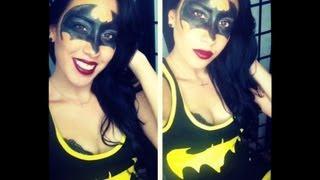 Super Hero Series: Batman Halloween Tutorial!!