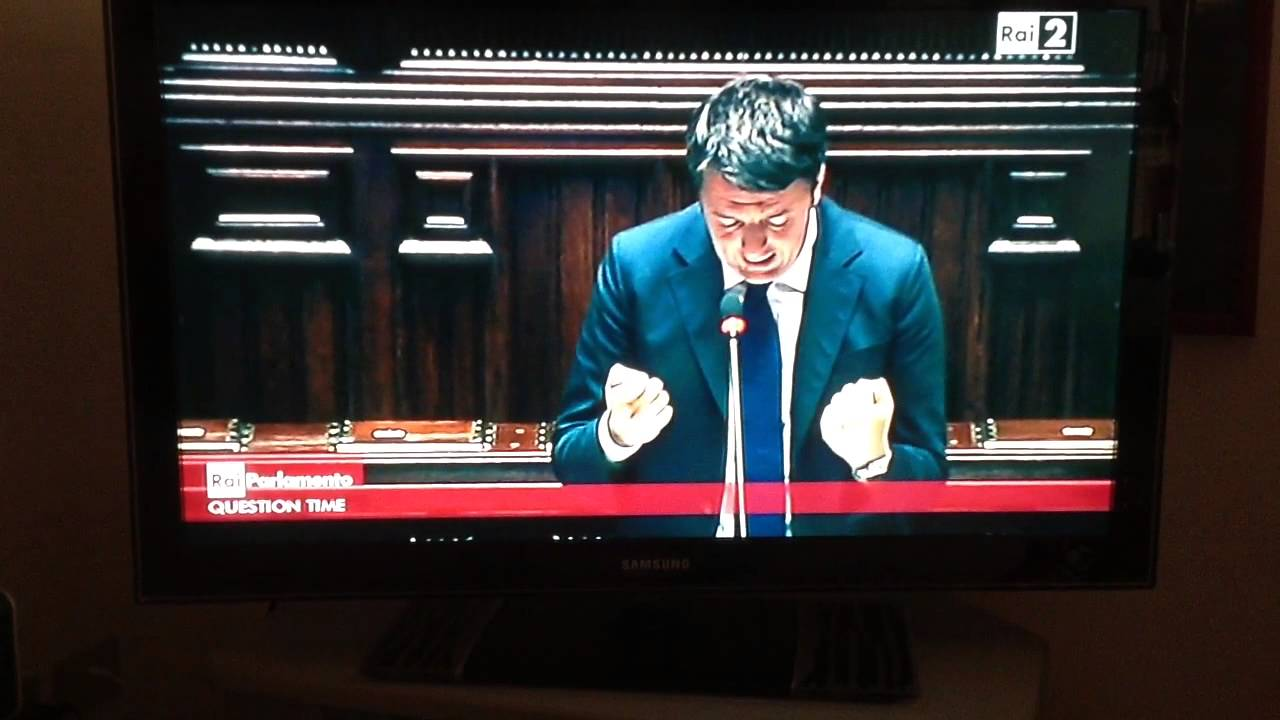 Question Time Alla Camera, Renzi Su Imu Prima Casa
