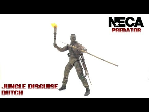 Video Review of the NECA Predator Series 9: Jungle Disguise Dutch