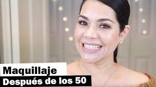 Maquillaje para principiantes después de los 50