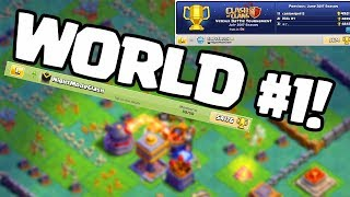 GLOBAL #1? Strategy and Base Design from TOP Clash of Clans Builder Hall Players!