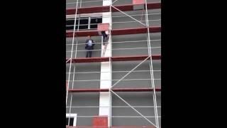Demokrat Kocaeli - Hüseyin Ayaz'dan akrobatik tırmanış