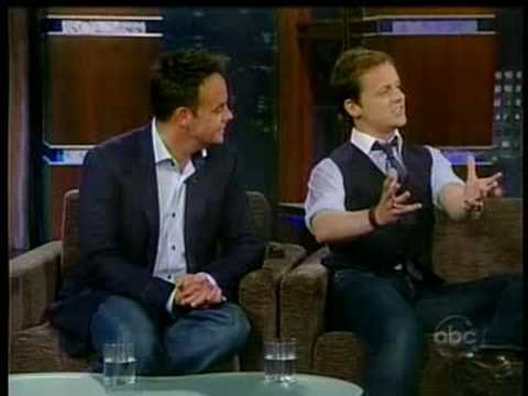 Jimmy Kimmel 7-18-08 - Ant and Dec