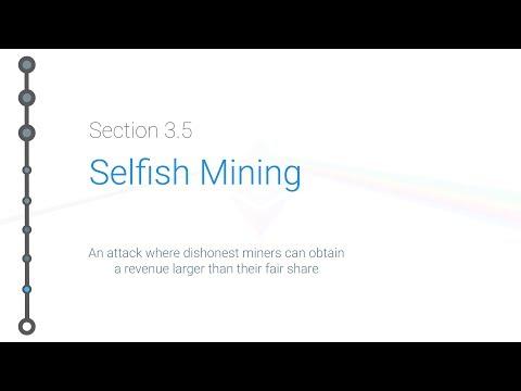 Cryptoeconomics - 3.5 - Bitcoin: Selfish Mining