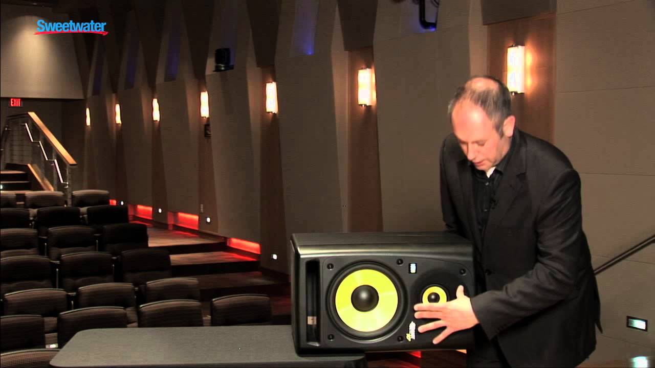 Krk Rokit Powered 10 3 Studio Monitors Overview Sweetwater Sound Youtube
