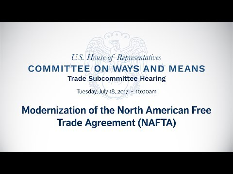 Modernization of the North American Free Trade Agreement (NAFTA)
