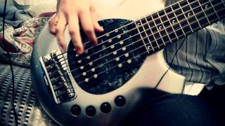 A Fortune in Lies - Dream Theater Bass Cover (shot in iPhone 4S)