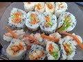 Sushi Indian Style - Home made Sushi