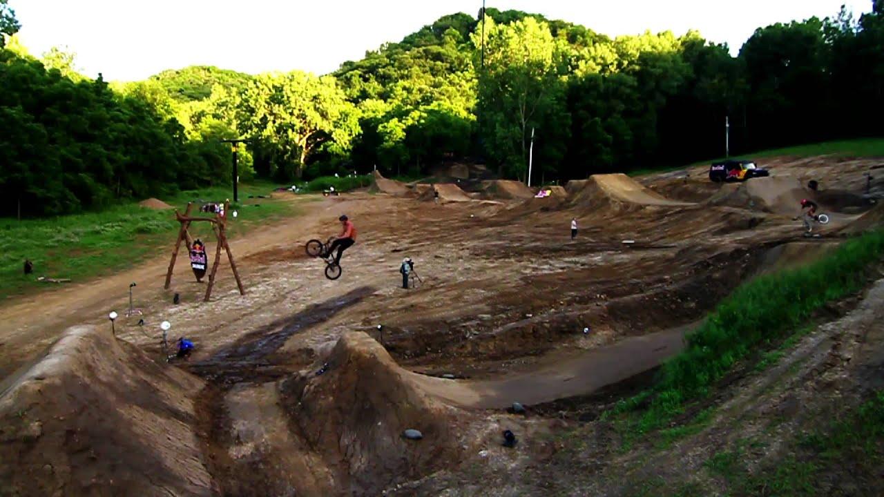 the ultimate bmx dirt park red bull dream line 2011 youtube