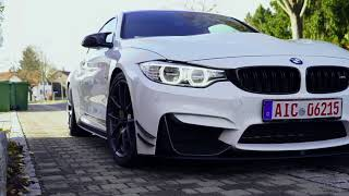 Забираем BMW M4 Performance
