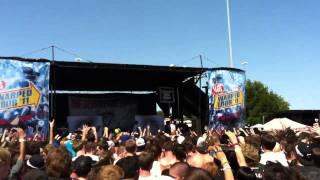 The Devil Wears Prada warped tour 2011 dallas