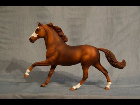 Airbrushing A Model Horse Series - Part 2, Sorrel/Chestnut