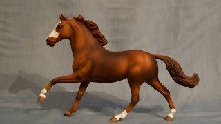 Airbrushing A Model Horse Series - Part 2, Sorrel/Chestnut