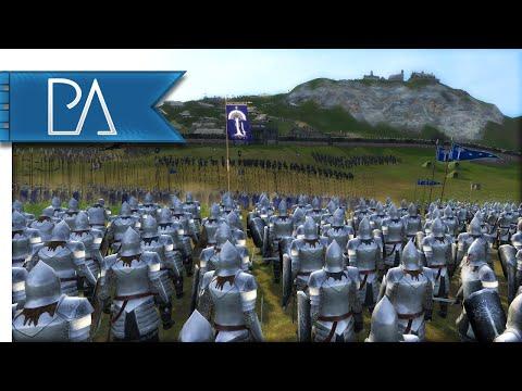 EDORAS UNDER SIEGE - Third Age Total War Gameplay