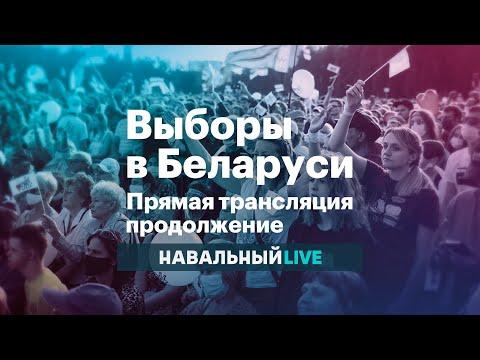 Выборы в Беларуси. Прямая трансляция. Продолжение