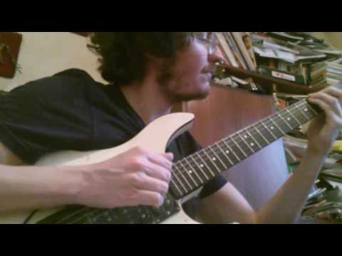 """Allan Holdsworth """"Letters of Marque""""-(personal version by paolo volpato)"""