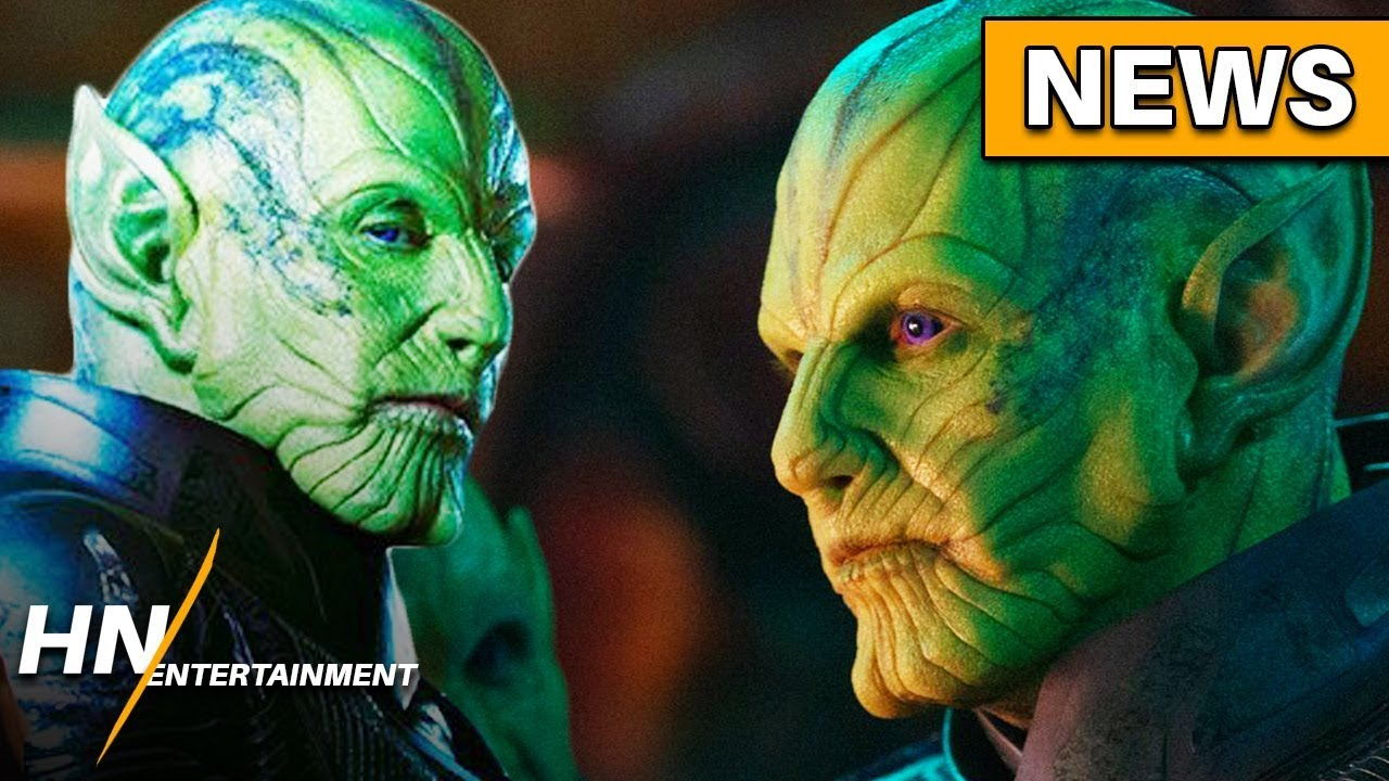 New Looks At The Skrulls And Captain Marvel Revealed Youtube