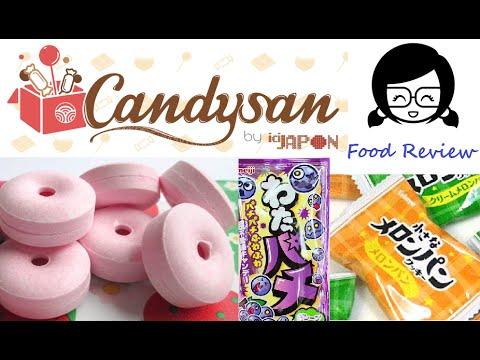 Food Review #26 - Japanische Süßigkeiten von Sevie (aus dem Candysan Onlineshop)